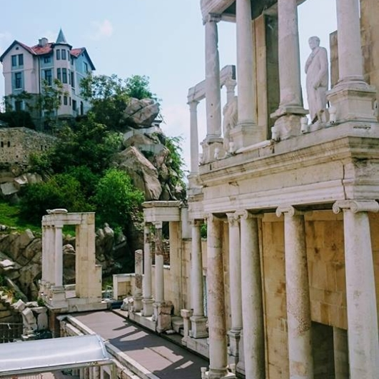 roman theatre plovdiv bg