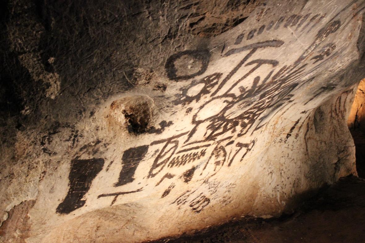 solar calendar historic cave painting