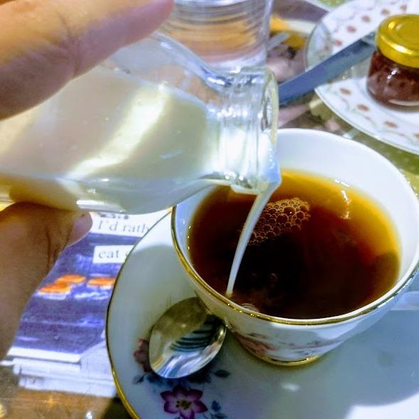 cream tea dorking